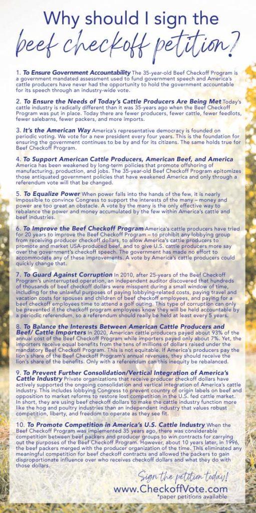 10 reason brochure